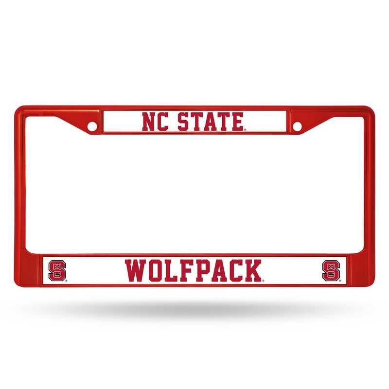 FCC130205RD: NCAA FCC Chrome Frame Colored N.Carolina