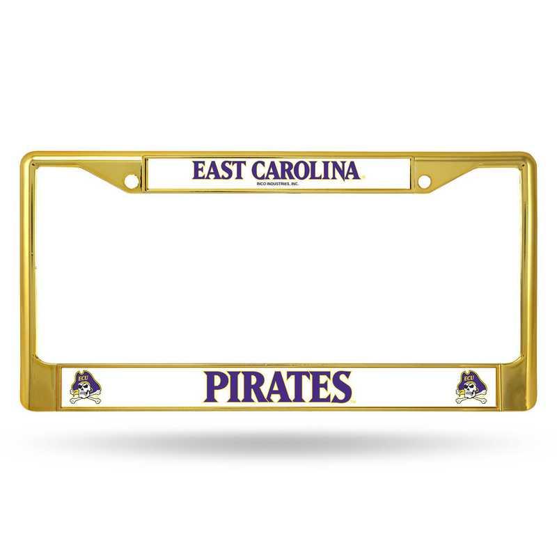 FCC130602GD: NCAA FCC Chrome Frame Colored E.Carolina