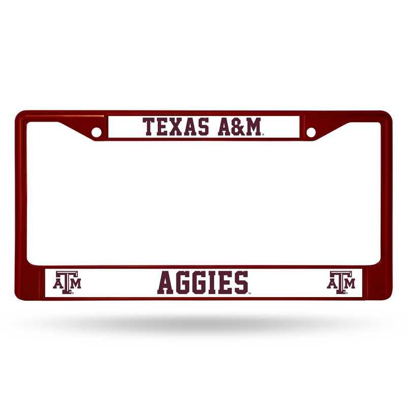FCC260203MR: NCAA FCC Chrome Frame (Colored)Texas A&M