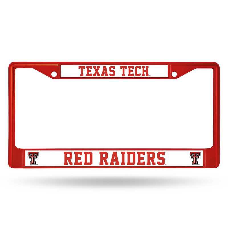 FCC260803RD: NCAA FCC Chrome Frame Colored)Texas Tech