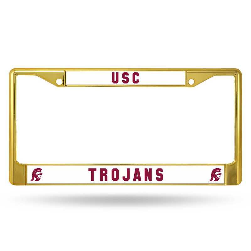FCC290104GD: NCAA FCC Chrome Frame (Colored) S.Calif