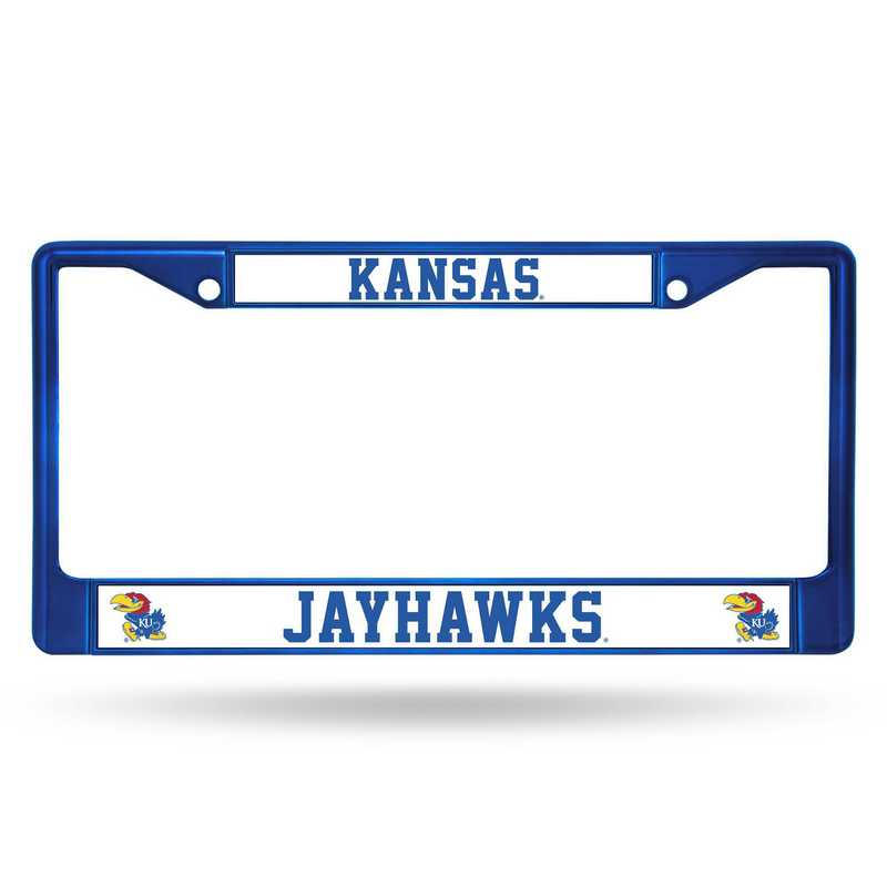 FCC310104BL: NCAA FCC Chrome Frame (Colored) Kansas