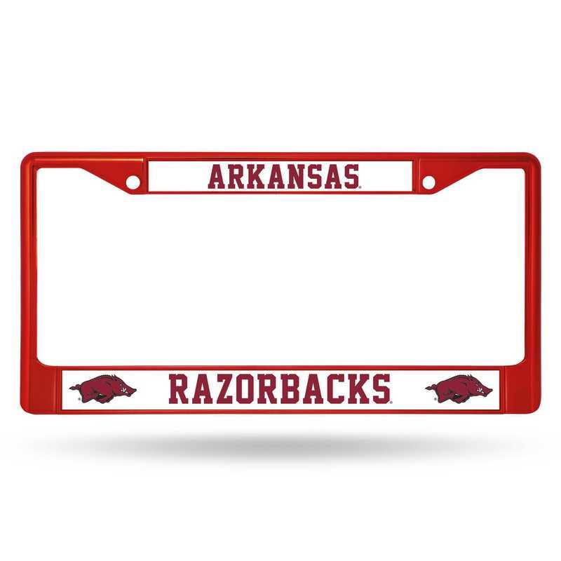 FCC360105RD: NCAA FCC Chrome Frame (Colored) Arkansas