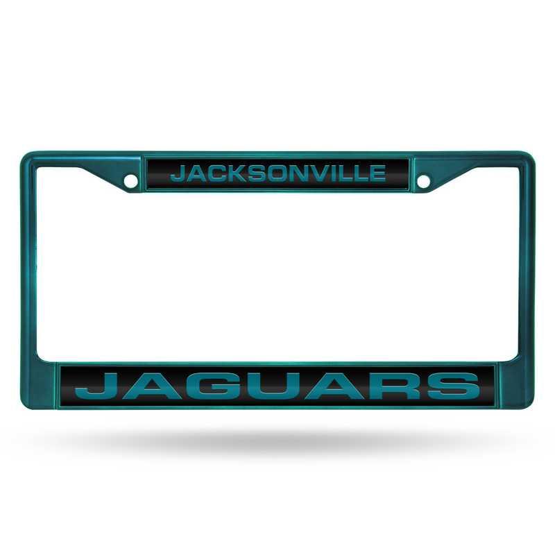 FNFCCL0903AQ: NFL FCCL Lsr Color Chrome Frame Jaguars