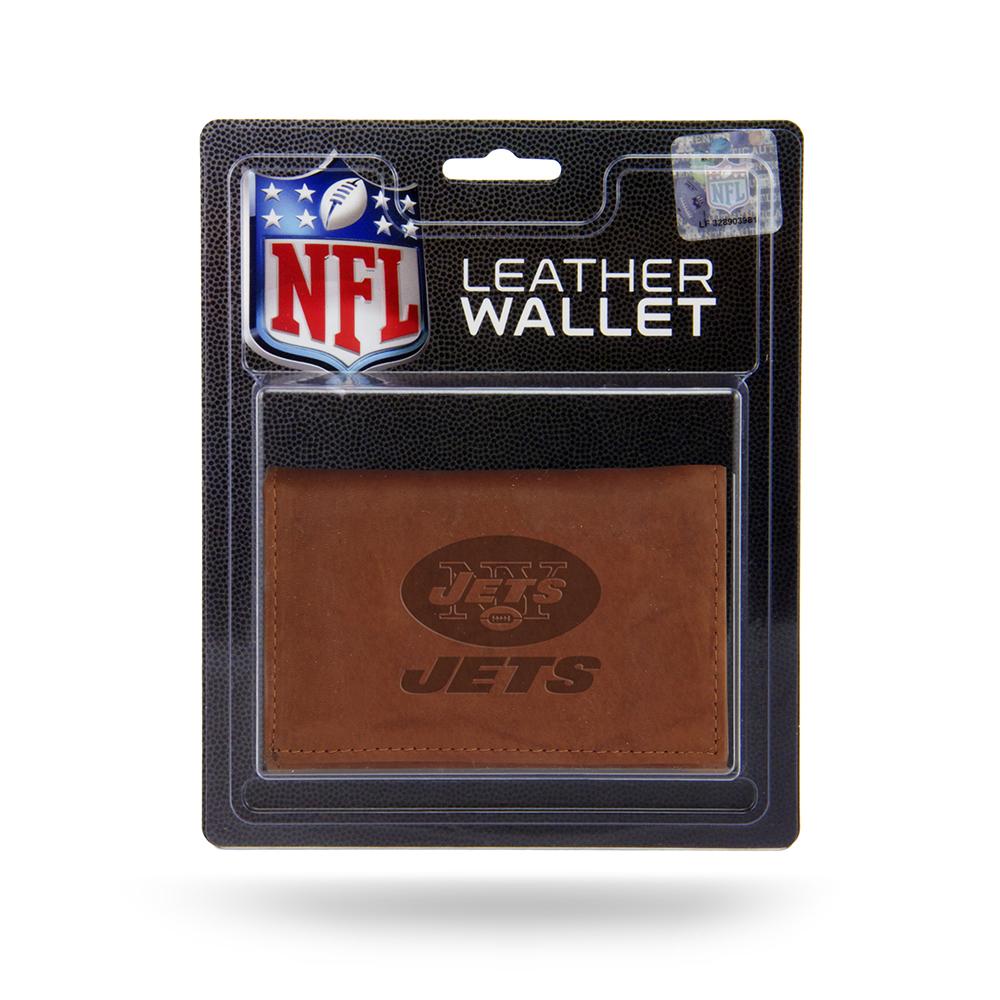 NFL New York Jets Leather Tri-Fold Wallet
