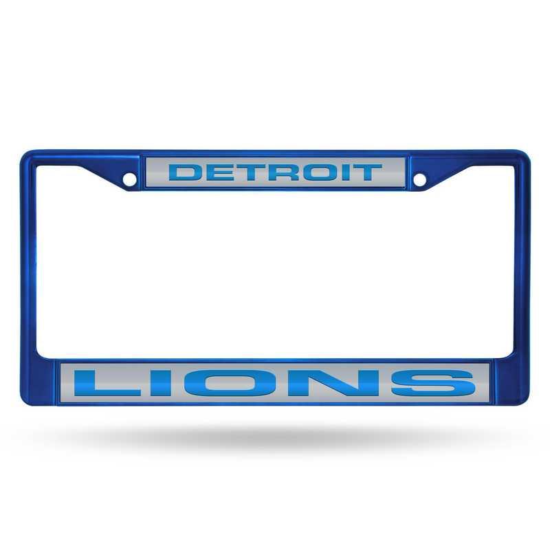FNFCCL2403BL: NFL FCCL Lsr Color Chrome Frame Lions