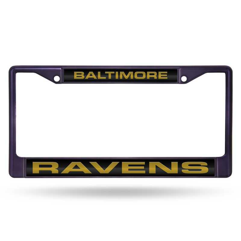 FNFCCL0702PR: NFL FCCL Lsr Color Chrome Frame Ravens