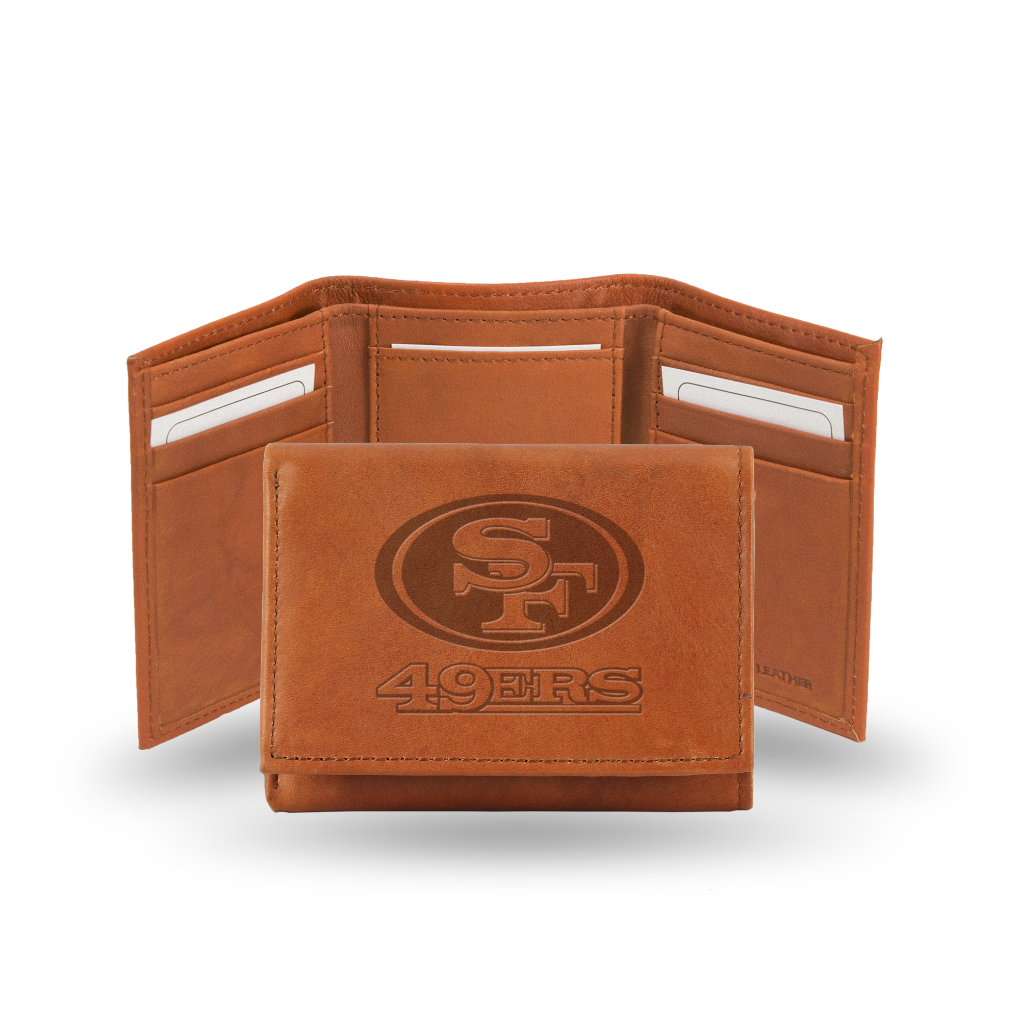 NFL San Francisco 49ers Leather Tri-fold Wallet