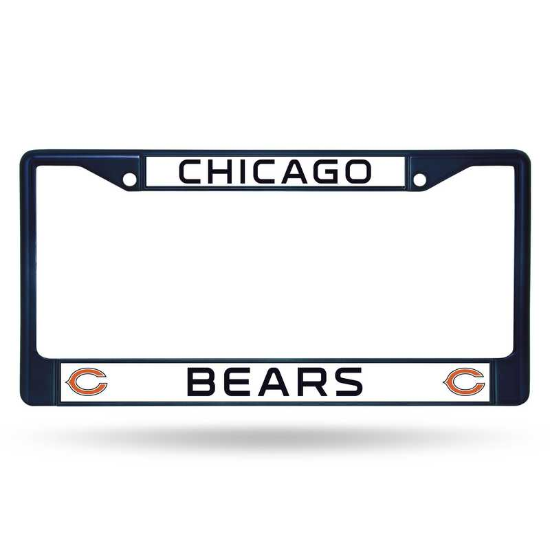FCC1204NV: NFL FCC Chrome Frame (Colored) Bears