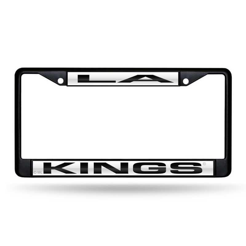 FNFCCL7102BK: RICO LA KINGS BLACK LASER COLORED CHROME FRAME