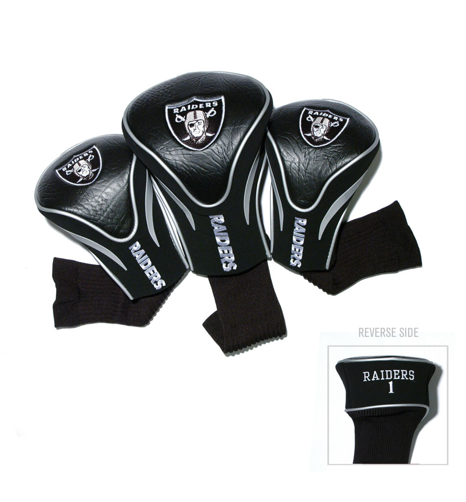 NFL Oakland Raiders Team Decal 3-Pack