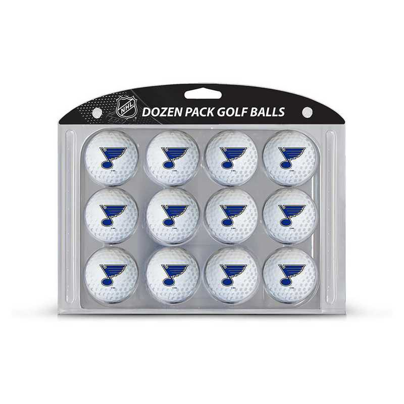 15403: Golf Balls, 12 Pack St Louis Blues