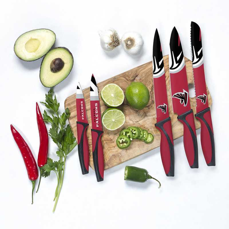 KKNFL02: TSV  Atlanta Falcons Kitchen Knives