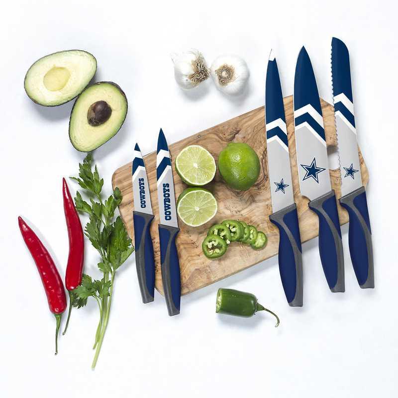 KKNFL09: TSV  Dallas Cowboys Kitchen Knives
