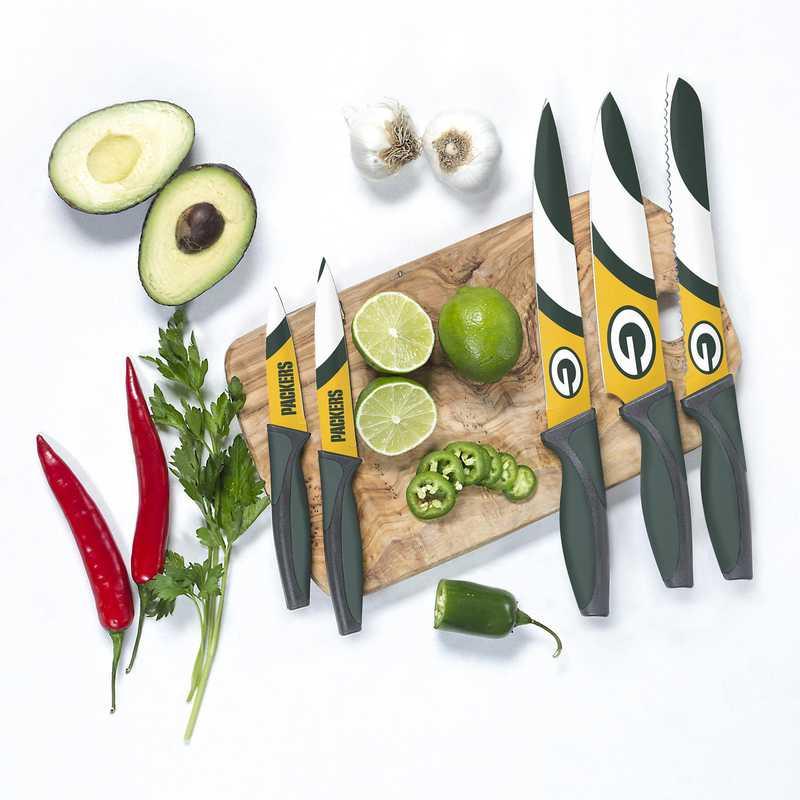 KKNFL12: TSV Green Bay Packers Kitchen Knives
