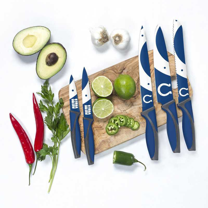 KKNFL14: TSV  Indianapolis Colts Kitchen Knives