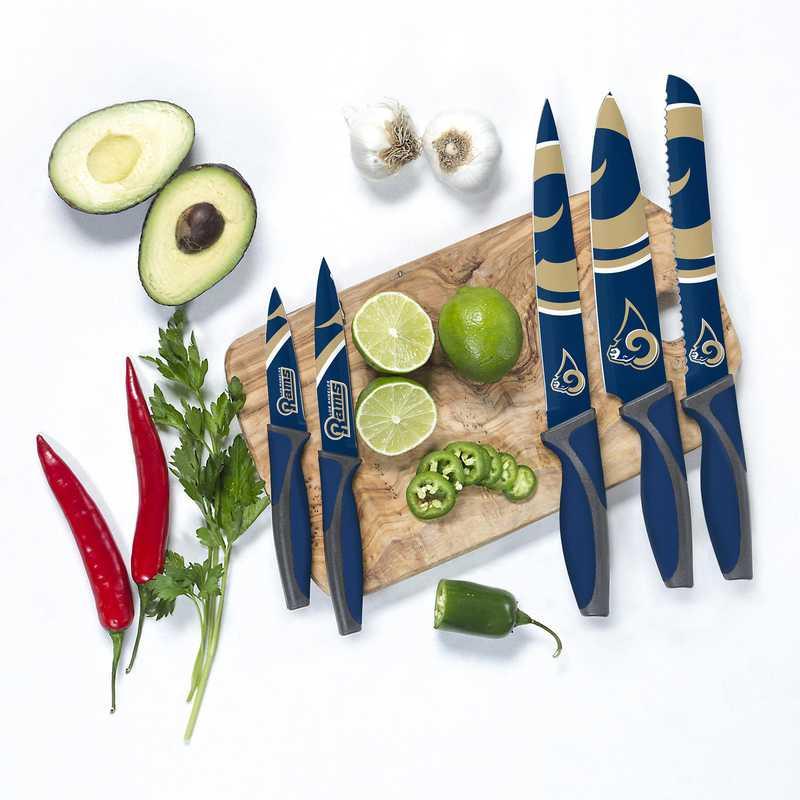KKNFL26: TSV  Los Angeles Rams Kitchen Knives