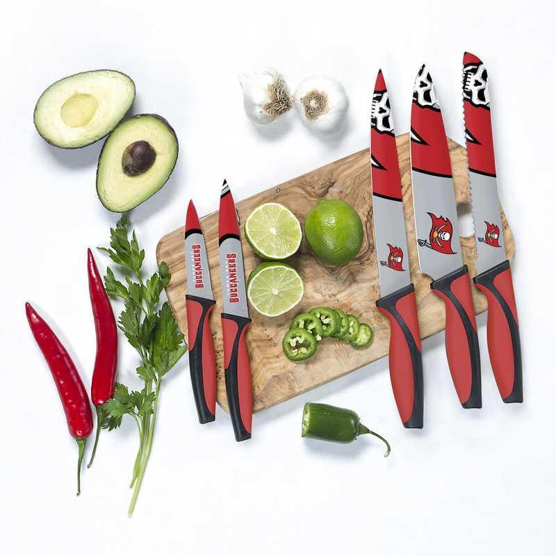 KKNFL30: TSV  Tampa Bay Buccaneers Kitchen Knives