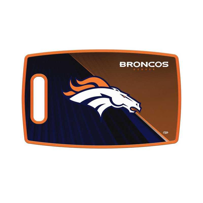 TSV Denver Broncos Large Cutting Board  : Unisex