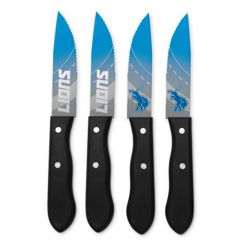 TSV  Detroit Lions Steak Knives: Unisex