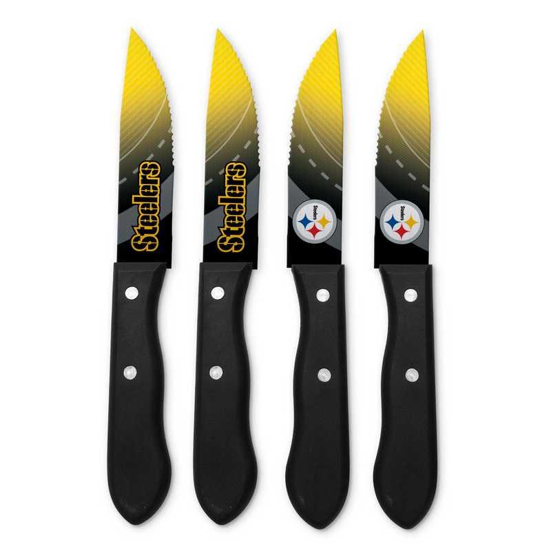 TSV  Pittsburgh Steelers Steak Knives: Unisex