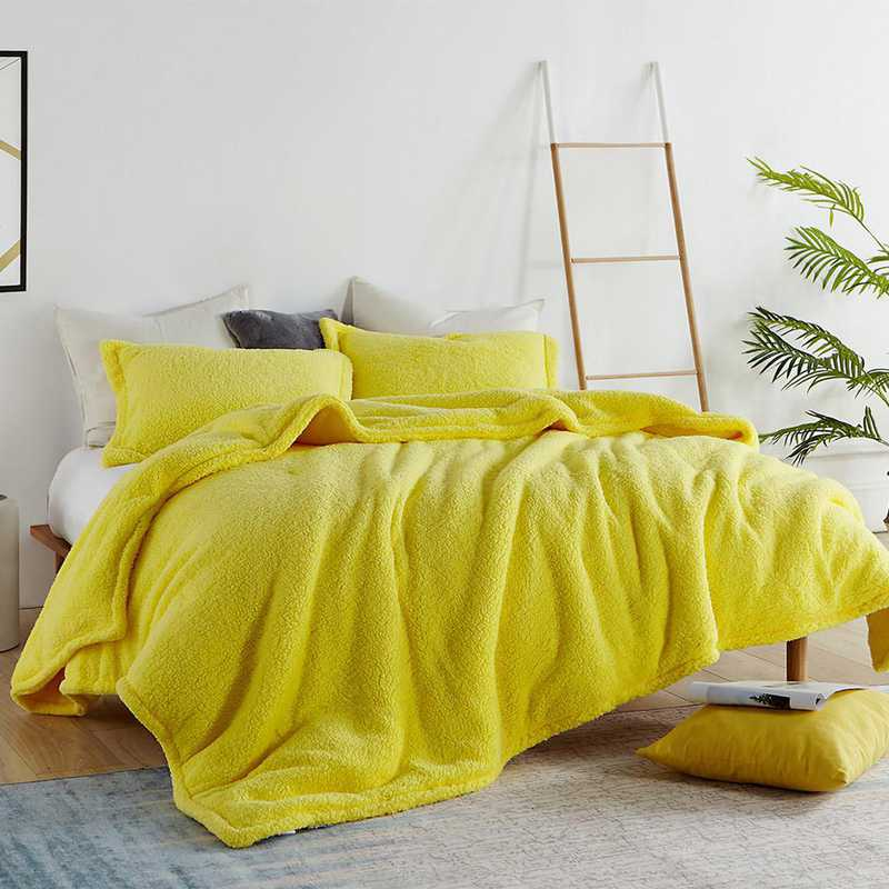 Coma Inducer Twin Xl Dorm Comforter The Napper Limelight Yellow