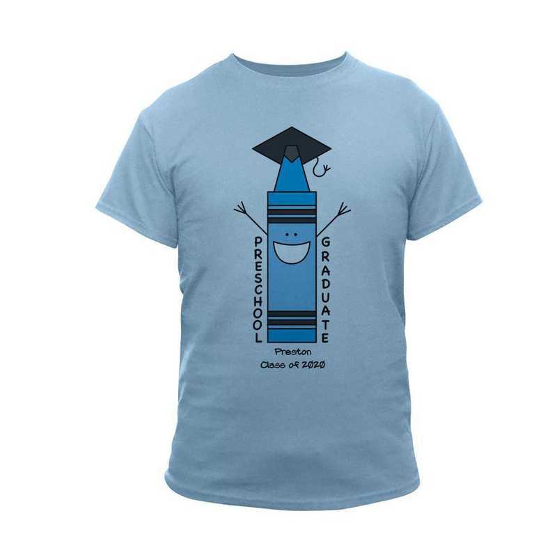 Blue Graduation T-Shirt Lt Blue