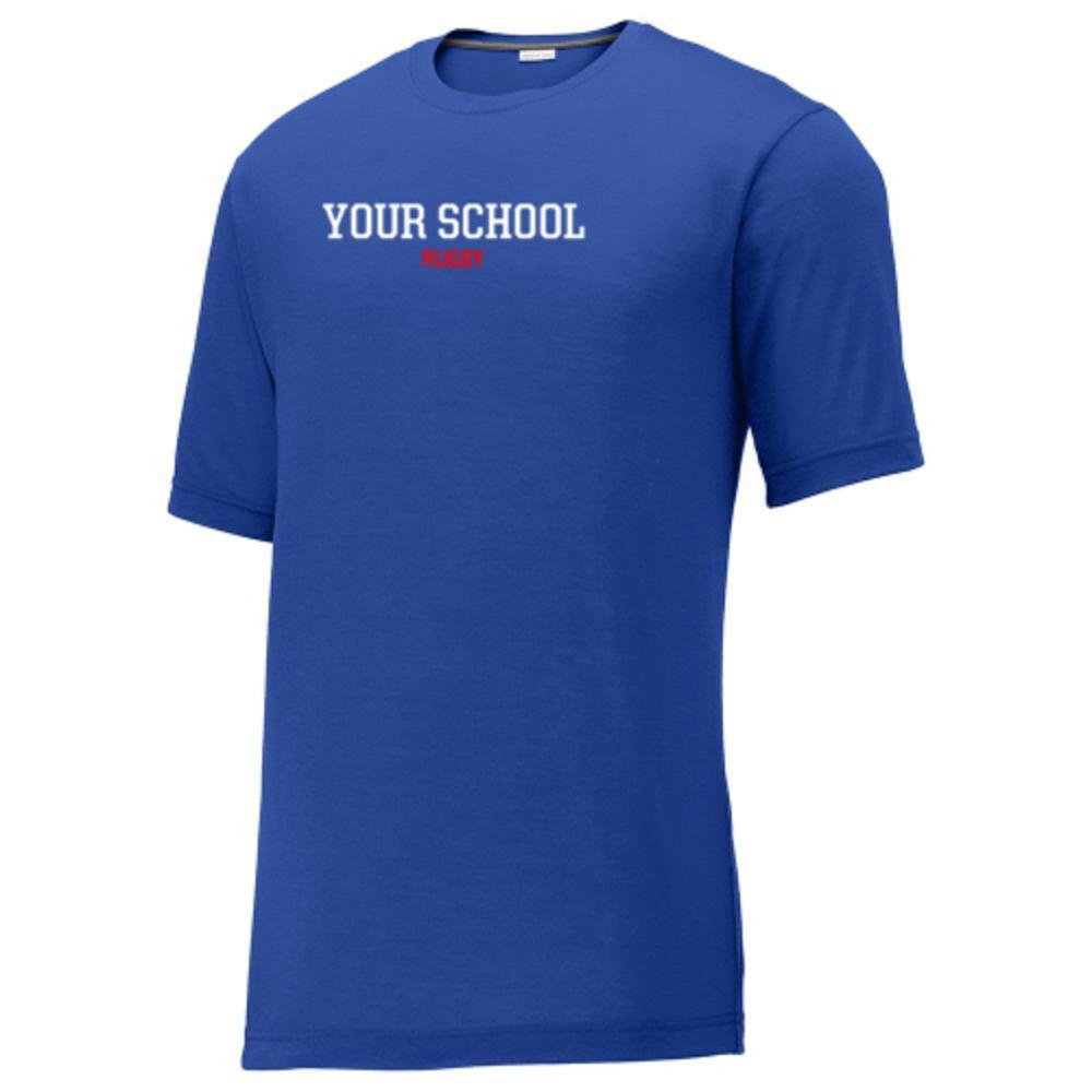 Rugby Sport Tek Competitor Cotton Touch Training T Shirt Die luftigen oberteile gibt es in tausenden designs und in ganz. balfour